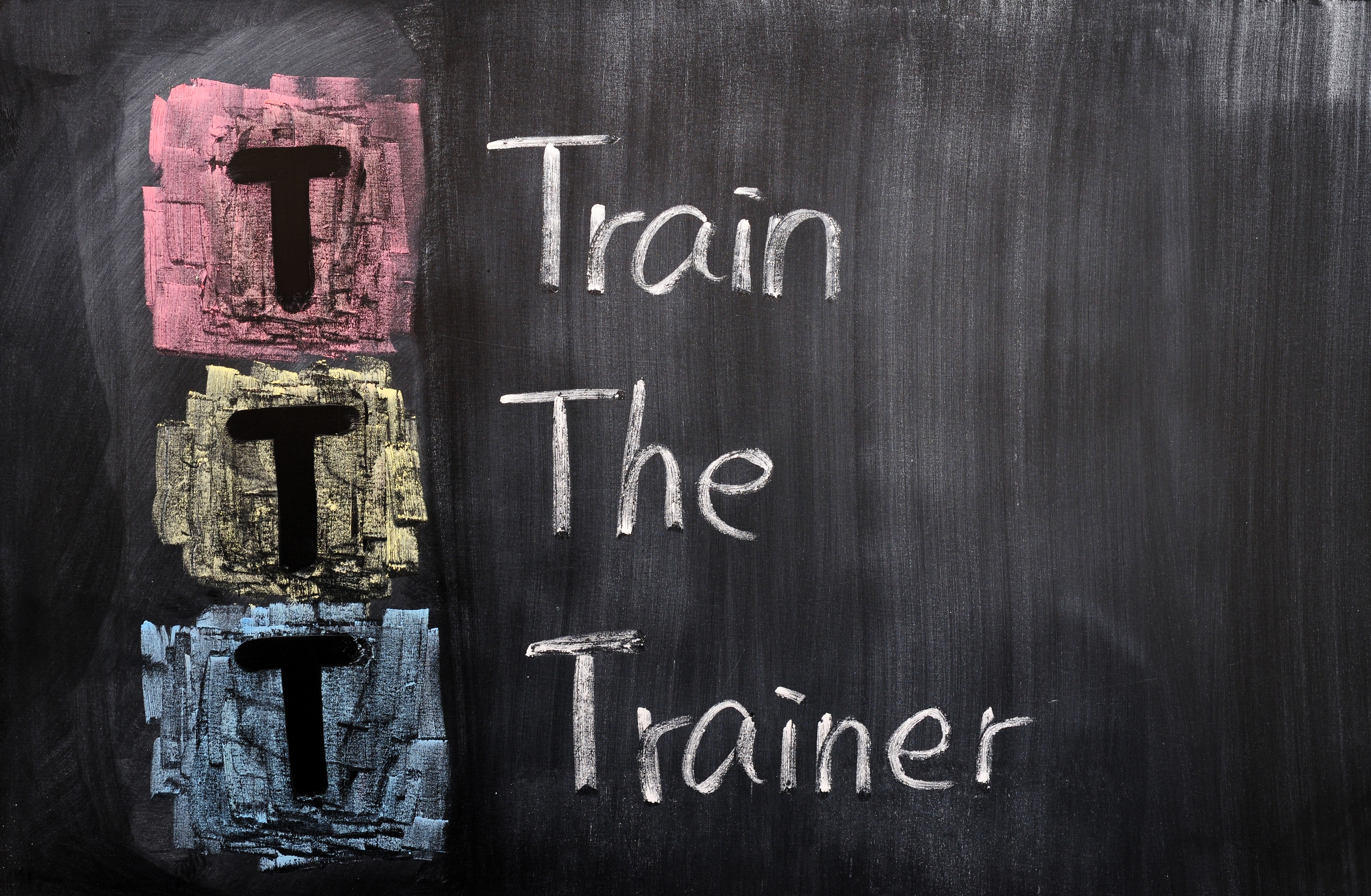 Acronym of TTT for Train the Trainer
